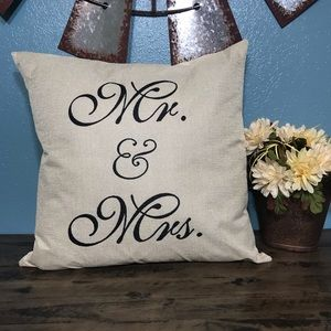 Other - Farmhouse style pillow cover